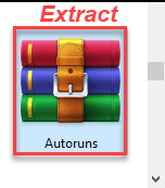 Extract Autoruns Min