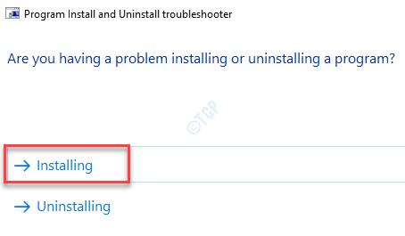 Installing Min