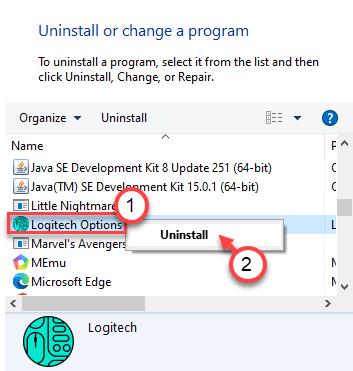 Logitech Options Min