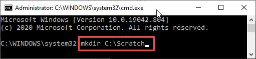 Mkdir C Scratch