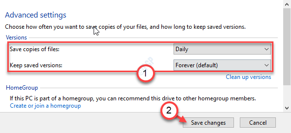 Save Copied Files Save Changes Min