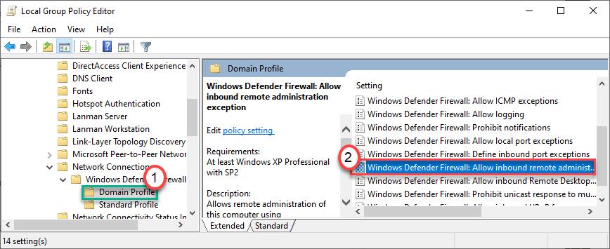 Windows Defender Firewall Allow Dc Min
