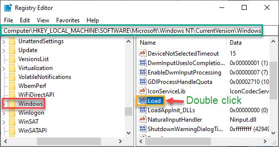 Windows Load Min