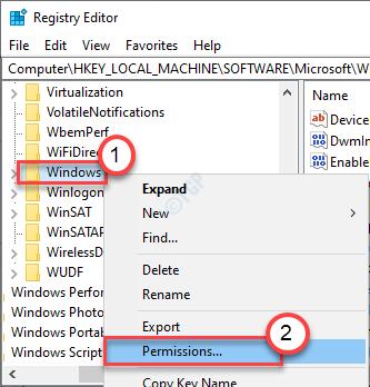 Windows Permission Min