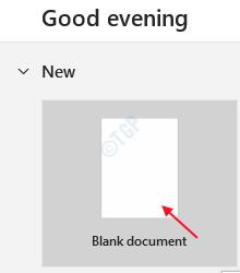 Wordblankdocument