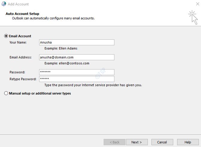 Email Address Details