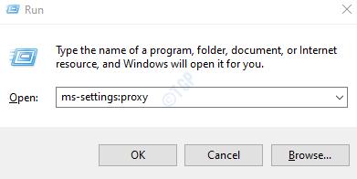 settings proxy