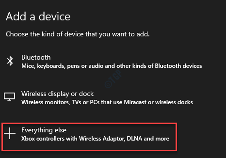 Add A Device Everything Else
