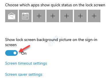 Lock Screen Background Select An Option Show Lock Screen Background Picture On The Sign In Screen Enable