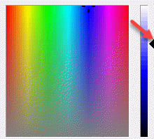 Ms Paint Edit Colours Move Pinter To Select Exact Color