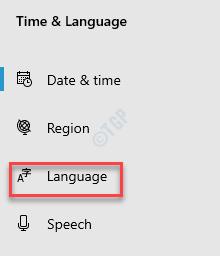 Settings Time & Language Language