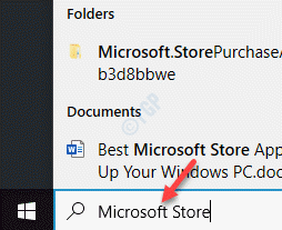 Start Windows Search Bar Microsoft Store