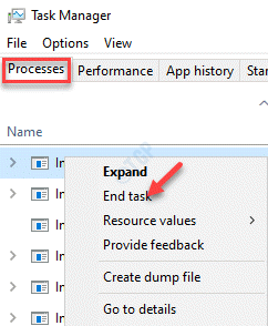Task Manager Processes Background Processes Iis Worker Process End Task