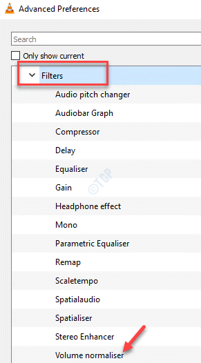 Vlc Advanced Preferences Audio Filters Volume Normaliser