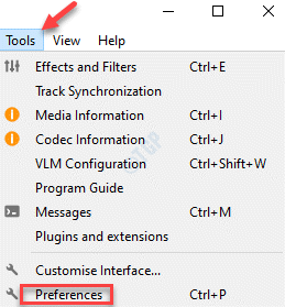 Vlc Media Player Tools Preferences
