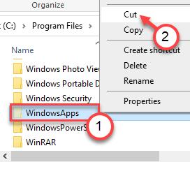 Windowsapps Cut Min