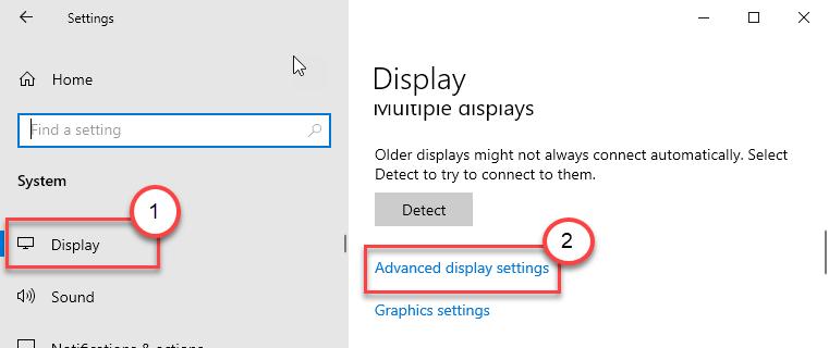 Advanced Display Settings Min