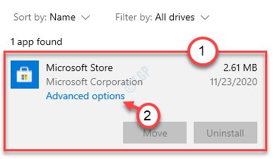 Advanced Options Store Min