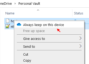 Always Keep Device