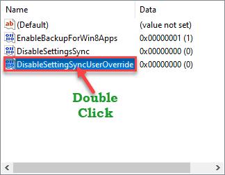 Disable Setting Sync User Dc Min