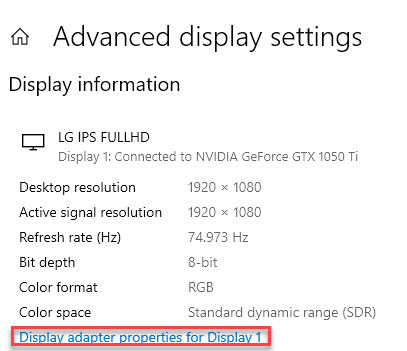 Display Adapter Props Min
