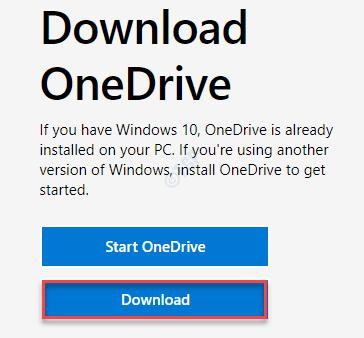 Download Onedrive Setup Min