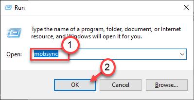 Mobsync Sync Center Run Command Min