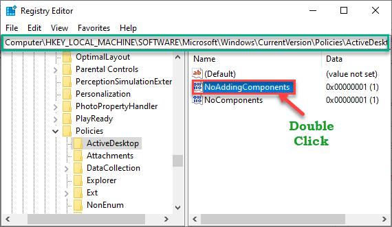 No Adding Components Min