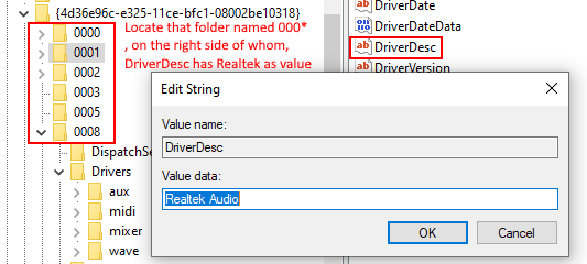 Realtek Audio Front Panel Disable Regedit