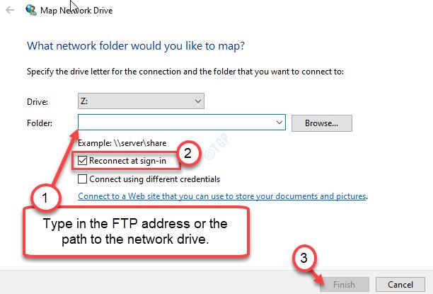 Type Network Address Min