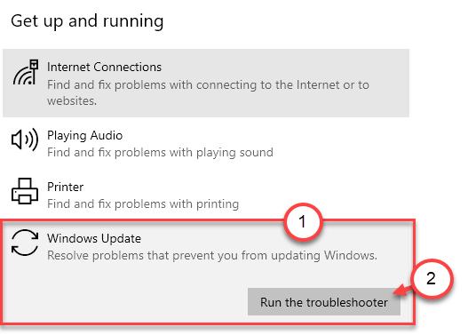 Windows Update Troubleshooter Min