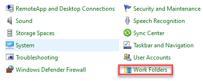 Work Folders Min