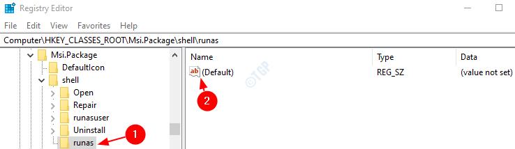 modify default
