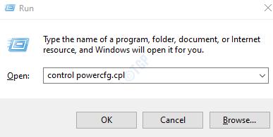 control powercfg.cpl