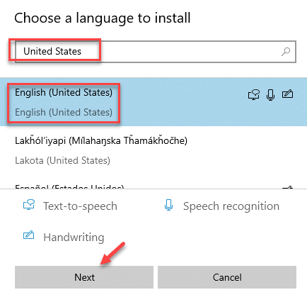 Choose A Language To Install Search Language English (united States) Next Min