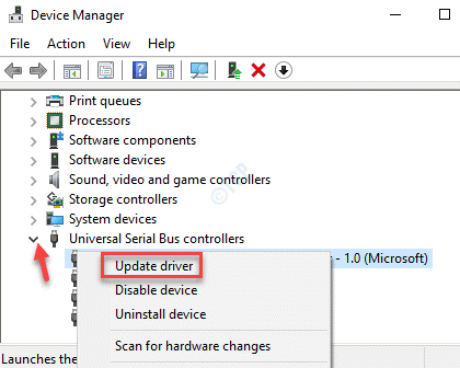 Device Manager Universal Serial Bus Controllers Asmedia Usb 3.0 Extensible Host Controller Update Driver