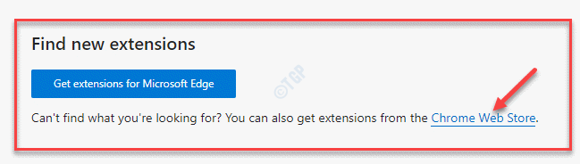 Edge Extensions Find New Extensions Chrome Web Store