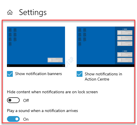 Get Notifications From These Apps Settings Turn On Critical Notifications Options