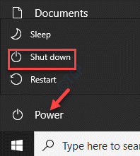 Start Power Shut Down