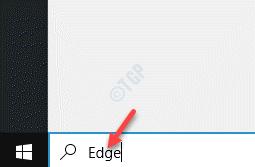Start Windows Search Bar Edge