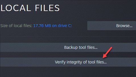 Steam Game Properties Local Files Verify Integrity Of Tool Files Min
