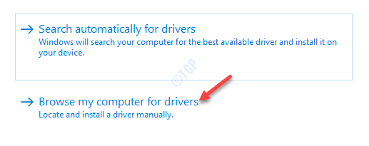 Update Drivers Browse My Computer For Driver Software