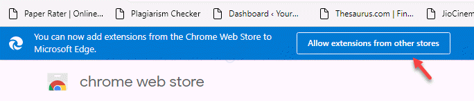 You Can Now Add Extensions From The Chrome Web Store To Microsoft Edge Allow Extensions From The Other Store