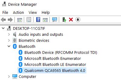 Bluetooth Device Name Min