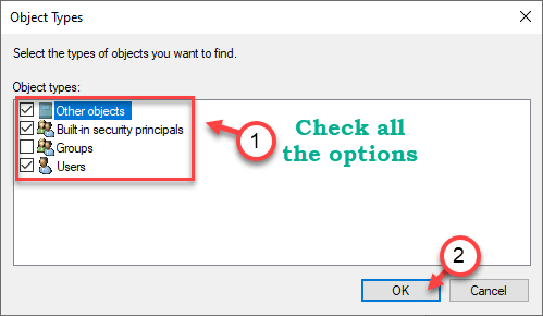 Check All The Options Min