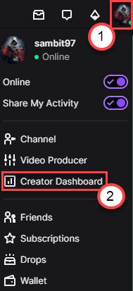 Creator Dashboard Min