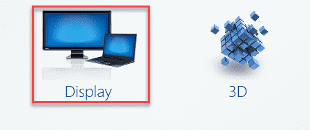 Display In Intel Graphics Min
