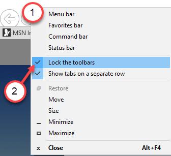 Lock The Toolbars Min