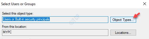 Object Types Min