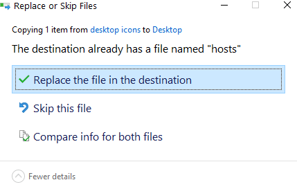 Replace File Min